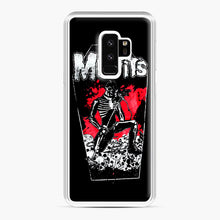 Load image into Gallery viewer, Misfits Coffin Graphic Samsung Galaxy S9 Plus Case, White Plastic Case | Webluence.com