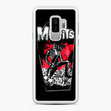 Load image into Gallery viewer, Misfits Coffin Graphic Samsung Galaxy S9 Plus Case, White Rubber Case | Webluence.com