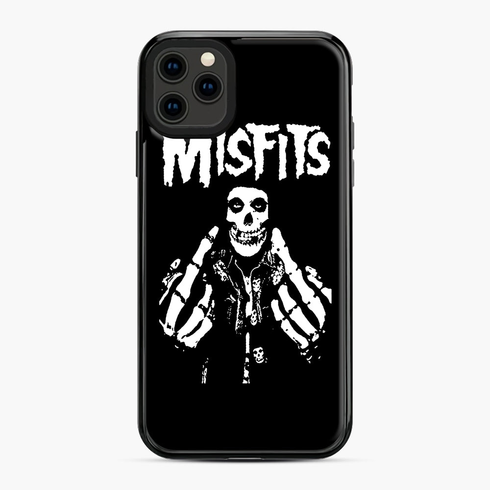 Misfits Fxx Skull Logo Hot iPhone 11 Pro Max Case, Black Plastic Case | Webluence.com