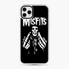 Load image into Gallery viewer, Misfits Fxx Skull Logo Hot iPhone 11 Pro Max Case, White Plastic Case | Webluence.com