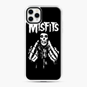 Misfits Fxx Skull Logo Hot iPhone 11 Pro Max Case, White Plastic Case | Webluence.com