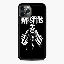 Load image into Gallery viewer, Misfits Fxx Skull Logo Hot iPhone 11 Pro Max Case, Black Rubber Case | Webluence.com