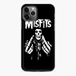 Misfits Fxx Skull Logo Hot iPhone 11 Pro Max Case, Black Rubber Case | Webluence.com