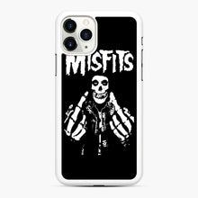 Load image into Gallery viewer, Misfits Fxx Skull Logo Hot iPhone 11 Pro Max Case, White Rubber Case | Webluence.com