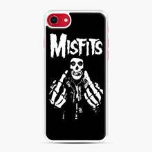 Load image into Gallery viewer, Misfits Fxx Skull Logo Hot iPhone 7/8 Case, White Plastic Case | Webluence.com