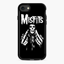 Load image into Gallery viewer, Misfits Fxx Skull Logo Hot iPhone 7/8 Case, Black Rubber Case | Webluence.com