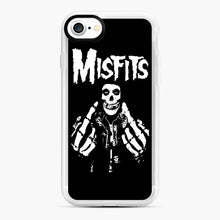 Load image into Gallery viewer, Misfits Fxx Skull Logo Hot iPhone 7/8 Case, White Rubber Case | Webluence.com