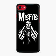 Load image into Gallery viewer, Misfits Fxx Skull Logo Hot iPhone 7/8 Case, Black Plastic Case | Webluence.com