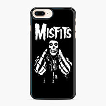 Load image into Gallery viewer, Misfits Fxx Skull Logo Hot iPhone 7,8 Plus Case, Black Plastic Case | Webluence.com
