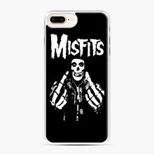 Load image into Gallery viewer, Misfits Fxx Skull Logo Hot iPhone 7,8 Plus Case, White Plastic Case | Webluence.com