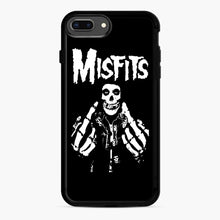 Load image into Gallery viewer, Misfits Fxx Skull Logo Hot iPhone 7,8 Plus Case, Black Rubber Case | Webluence.com