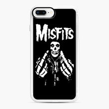Load image into Gallery viewer, Misfits Fxx Skull Logo Hot iPhone 7,8 Plus Case, White Rubber Case | Webluence.com
