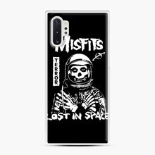 Load image into Gallery viewer, Misfits Lost In Space Rock Band Samsung Galaxy Note 10 Plus Case, White Plastic Case | Webluence.com