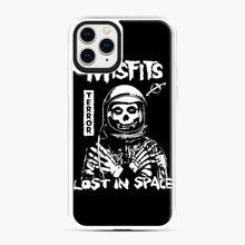 Load image into Gallery viewer, Misfits Lost In Space Rock Band iPhone 11 Pro Case, White Plastic Case | Webluence.com