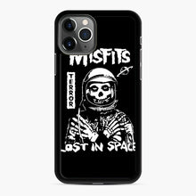 Load image into Gallery viewer, Misfits Lost In Space Rock Band iPhone 11 Pro Case, Black Rubber Case | Webluence.com