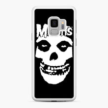 Load image into Gallery viewer, Misfits New Skull Samsung Galaxy S9 Case, White Rubber Case | Webluence.com