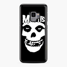 Load image into Gallery viewer, Misfits New Skull Samsung Galaxy S9 Case, Black Plastic Case | Webluence.com