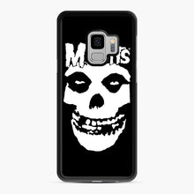 Load image into Gallery viewer, Misfits New Skull Samsung Galaxy S9 Case, Black Rubber Case | Webluence.com