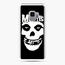 Load image into Gallery viewer, Misfits New Skull Samsung Galaxy S9 Case, White Plastic Case | Webluence.com