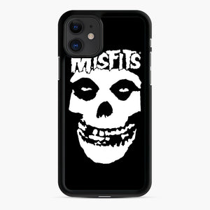 Misfits New Skull iPhone 11 Case, Black Rubber Case | Webluence.com