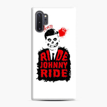 Load image into Gallery viewer, Misfits Ride Johnny Ride Samsung Galaxy Note 10 Plus Case, Snap Case | Webluence.com