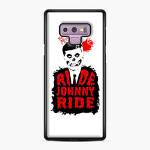 Load image into Gallery viewer, Misfits Ride Johnny Ride Samsung Galaxy Note 9 Case, Black Plastic Case | Webluence.com