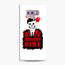 Load image into Gallery viewer, Misfits Ride Johnny Ride Samsung Galaxy Note 9 Case, Snap Case | Webluence.com
