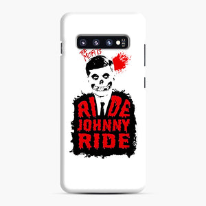 Misfits Ride Johnny Ride Samsung Galaxy S10 Plus Case, Snap Case | Webluence.com