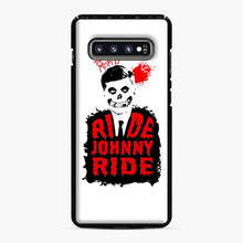 Load image into Gallery viewer, Misfits Ride Johnny Ride Samsung Galaxy S10 Plus Case, Black Plastic Case | Webluence.com