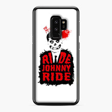 Load image into Gallery viewer, Misfits Ride Johnny Ride Samsung Galaxy S9 Plus Case, Black Plastic Case | Webluence.com