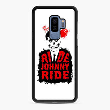 Load image into Gallery viewer, Misfits Ride Johnny Ride Samsung Galaxy S9 Plus Case, Black Rubber Case | Webluence.com