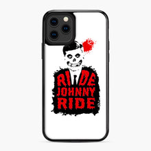 Load image into Gallery viewer, Misfits Ride Johnny Ride iPhone 11 Pro Case, Black Plastic Case | Webluence.com
