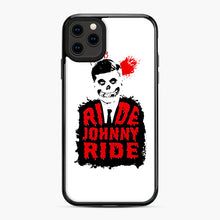 Load image into Gallery viewer, Misfits Ride Johnny Ride iPhone 11 Pro Max Case, Black Plastic Case | Webluence.com