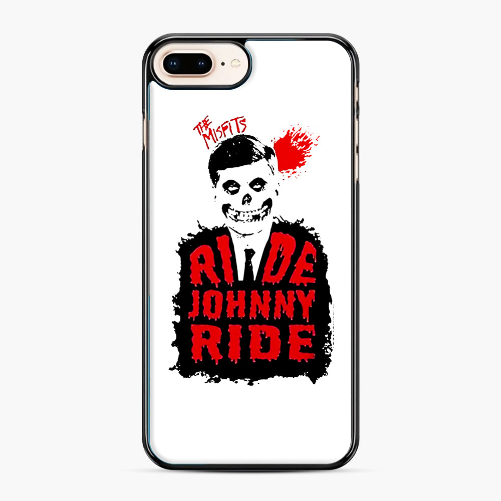 Misfits Ride Johnny Ride iPhone 7,8 Plus Case, Black Plastic Case | Webluence.com