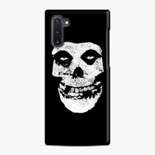 Load image into Gallery viewer, Misfits Skull & Logo Samsung Galaxy Note 10 Case, Snap Case | Webluence.com