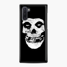 Load image into Gallery viewer, Misfits Skull & Logo Samsung Galaxy Note 10 Case, Black Plastic Case | Webluence.com