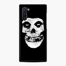 Load image into Gallery viewer, Misfits Skull & Logo Samsung Galaxy Note 10 Case, Black Rubber Case | Webluence.com