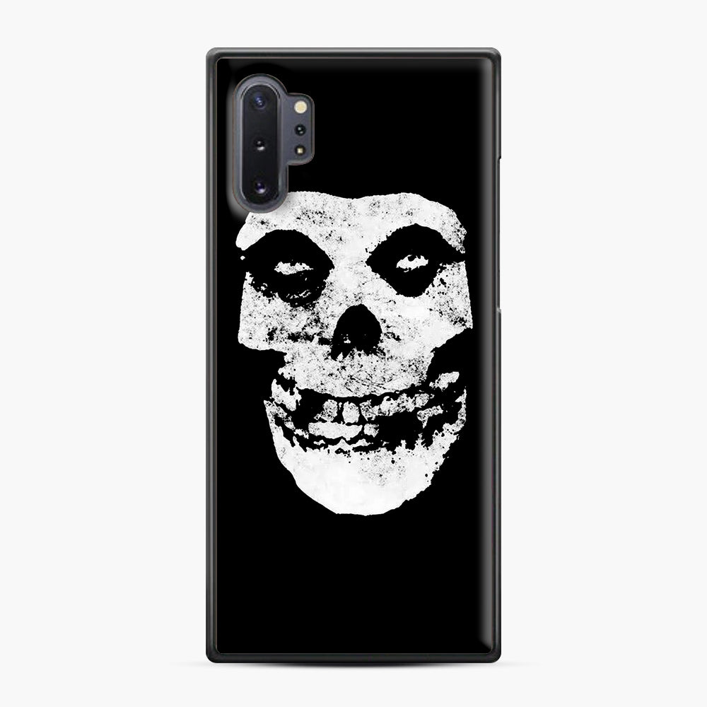 Misfits Skull & Logo Samsung Galaxy Note 10 Plus Case, Black Plastic Case | Webluence.com