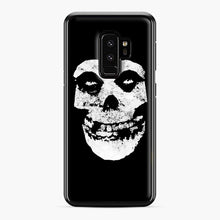 Load image into Gallery viewer, Misfits Skull & Logo Samsung Galaxy S9 Plus Case, Black Plastic Case | Webluence.com