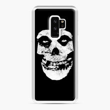 Load image into Gallery viewer, Misfits Skull & Logo Samsung Galaxy S9 Plus Case, White Plastic Case | Webluence.com