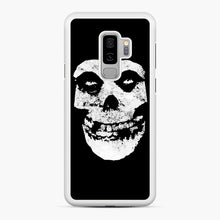 Load image into Gallery viewer, Misfits Skull & Logo Samsung Galaxy S9 Plus Case, White Rubber Case | Webluence.com