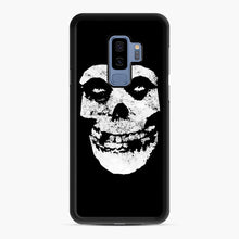 Load image into Gallery viewer, Misfits Skull & Logo Samsung Galaxy S9 Plus Case, Black Rubber Case | Webluence.com