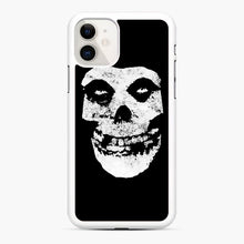 Load image into Gallery viewer, Misfits Skull & Logo iPhone 11 Case, White Rubber Case | Webluence.com