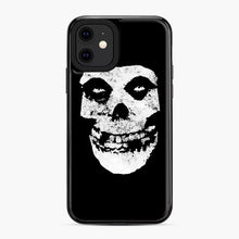 Load image into Gallery viewer, Misfits Skull & Logo iPhone 11 Case, Black Plastic Case | Webluence.com