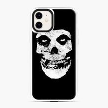 Load image into Gallery viewer, Misfits Skull & Logo iPhone 11 Case, White Plastic Case | Webluence.com