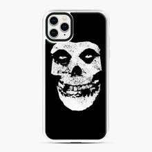 Load image into Gallery viewer, Misfits Skull & Logo iPhone 11 Pro Max Case, White Plastic Case | Webluence.com