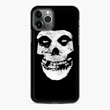 Load image into Gallery viewer, Misfits Skull & Logo iPhone 11 Pro Max Case, Black Rubber Case | Webluence.com