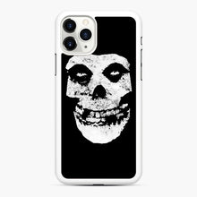 Load image into Gallery viewer, Misfits Skull & Logo iPhone 11 Pro Max Case, White Rubber Case | Webluence.com