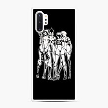 Load image into Gallery viewer, Misfits Walk Among Us Samsung Galaxy Note 10 Plus Case, White Rubber Case | Webluence.com