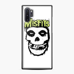 Misfits 'Logo Skull' Long Sleeved Baseball Samsung Galaxy Note 10 Plus Case, Black Plastic Case | Webluence.com